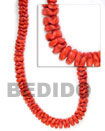 Coco Flower Beads Red Coco Beads Coconut Necklace