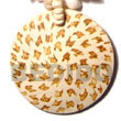 Fashion 50mm Round Coco Pendant Coco Pendant