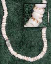 Puka Tiger Shells In Puka Shells Beads Necklace