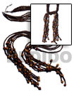 Fashion Scarf Necklace - 6 Scarf Necklace