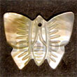 Butterfly MOP 40mm Pendants Shell Pendant