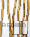 Robles Tube Wood Beads Wooden Necklaces