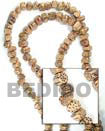 Robles Triangle Wood Beads Wooden Necklaces
