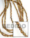 Bayong Wood Beads Wooden Necklaces