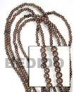 Fashion Camagong Wood Beads Wooden Necklaces