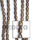 Camagong Oval Wood Beads Wooden Necklaces