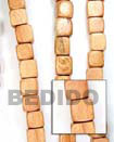 Fashion Bayong Dice Wood Beads Wooden Necklaces