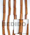 Bayong Tube Wood Beads Wooden Necklaces