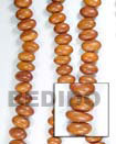 Bayong Oval Nuggets Wood Wood Beads Wooden Necklaces