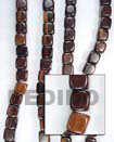 Camagong Cubes Wood Beads Wooden Necklaces