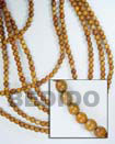 Nangka Wood Beads Wooden Necklaces