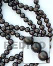 Camagong Wood Beads Wooden Necklaces