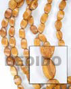 Bayong Twist Wood Beads Wooden Necklaces