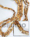 Roble Barrel Wood Beads Wooden Necklaces