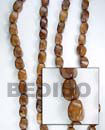Roble Wood Twist Wood Wood Beads Wooden Necklaces