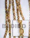 Robles Wood Oval Wood Beads Wooden Necklaces